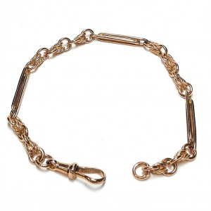 9ct Rose Gold Fancy Bracelet